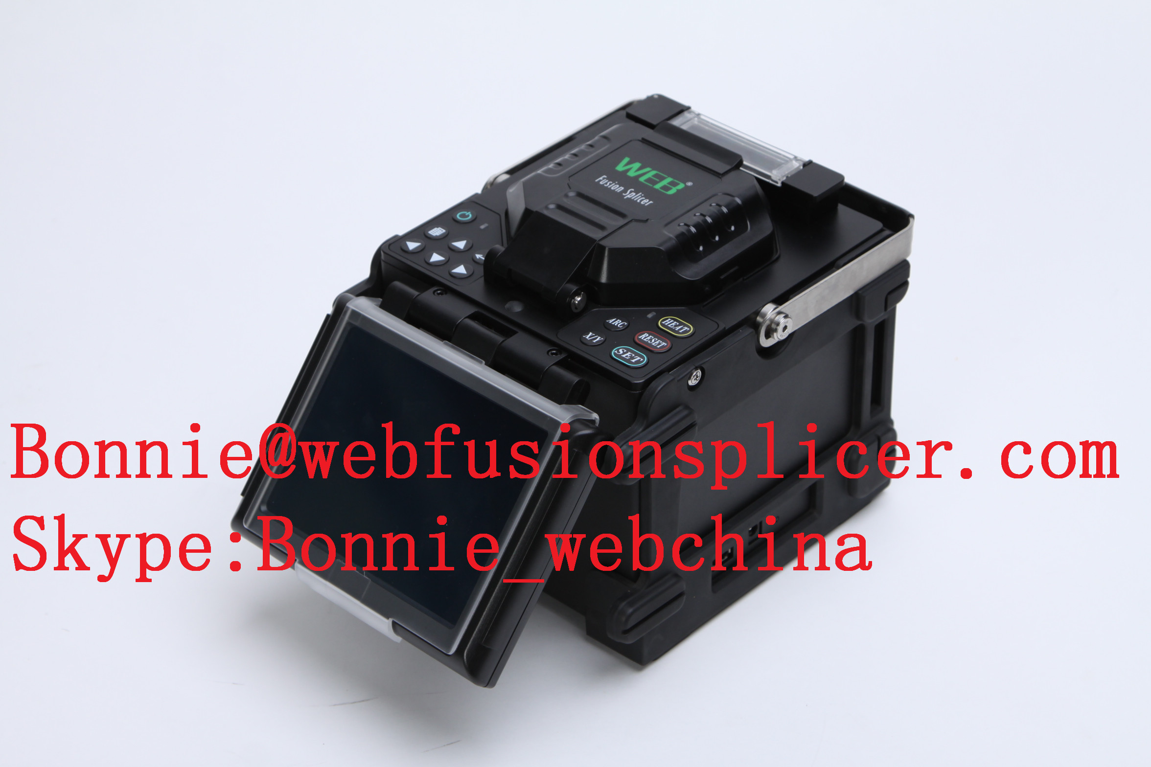 Ftth optical splicer machine hot fiber fusion splicing machine