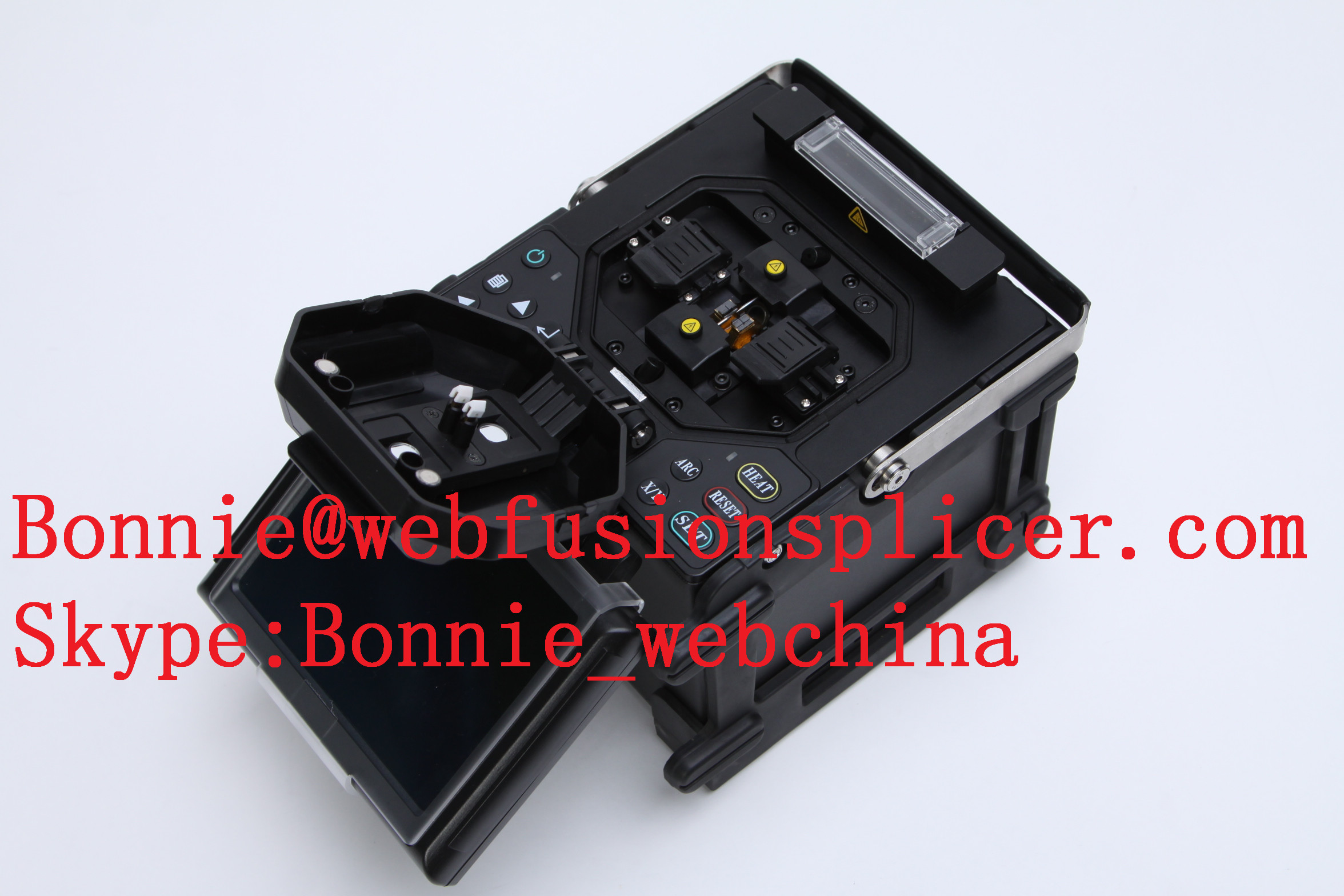 fibre optic cable splicing machine fiber fusion splicer price