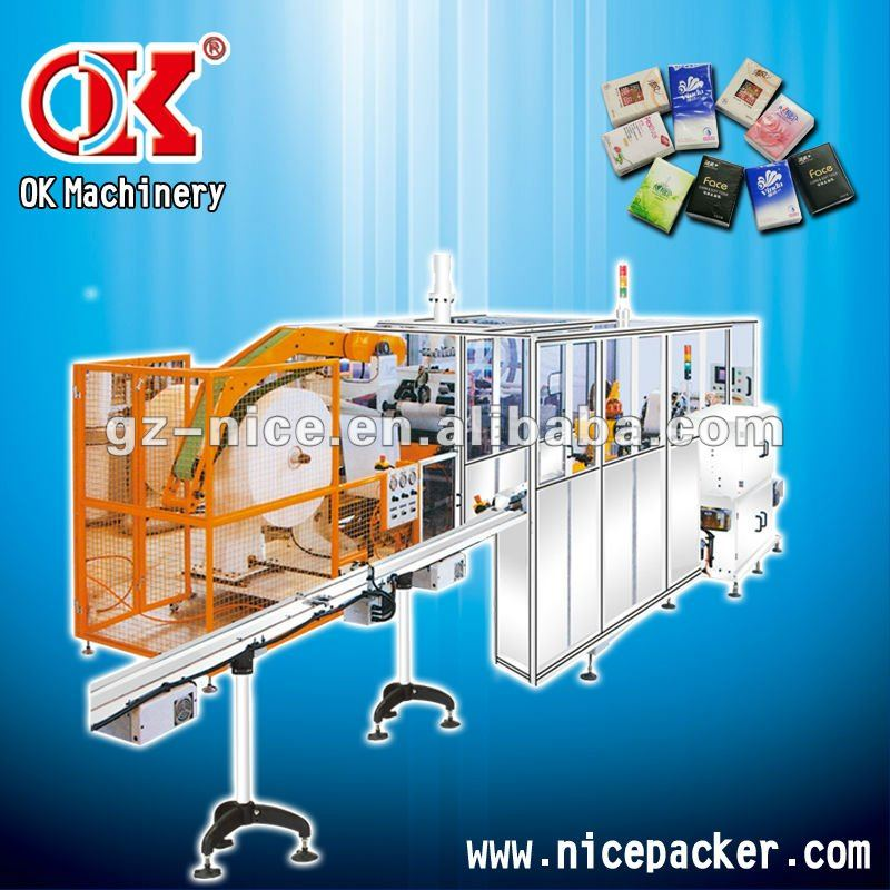 ok-250 Handkerchief production packing line