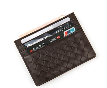 business card holder leather Card Holder THI-02