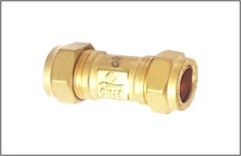 Brass Spring Check Valve With Compression End
