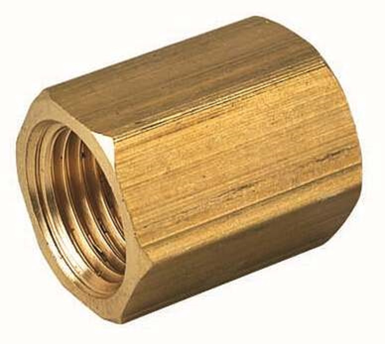 Brass Single Female Thread Connector