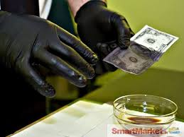 Automatic ssd chemical for cleaning coated money