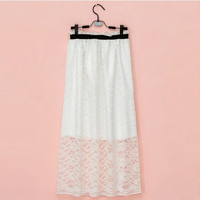 Bud silk skirts rose pattern