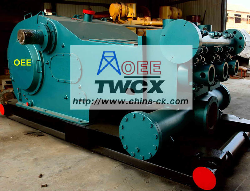 Emsco F-1000 Drilling Triplex Mud Pump