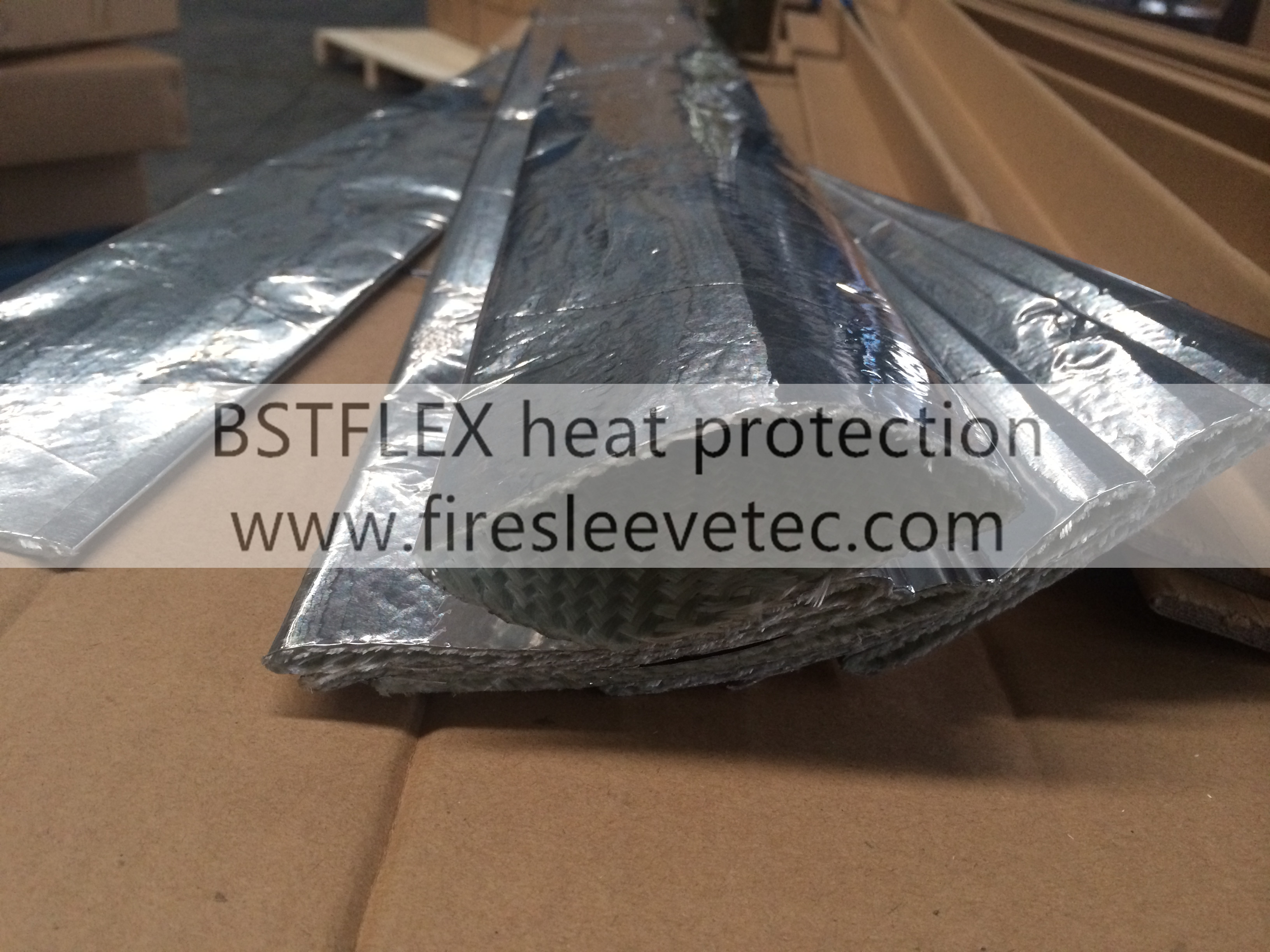 Heat Shield Sleeve Insulated Wire Hose Cover Protection
