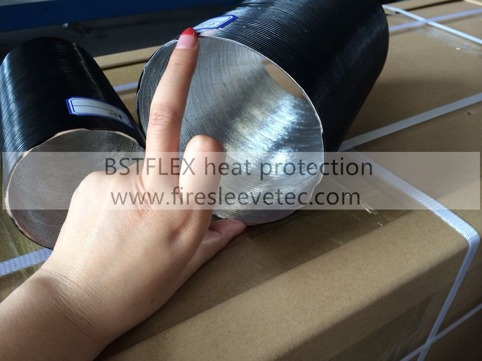 Aluminum Coated Fiberglass Reflect Sleeve