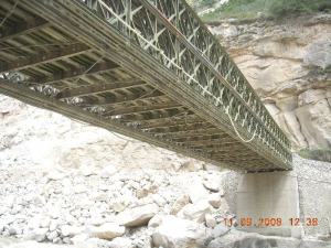 Steel Space Frame Bridge