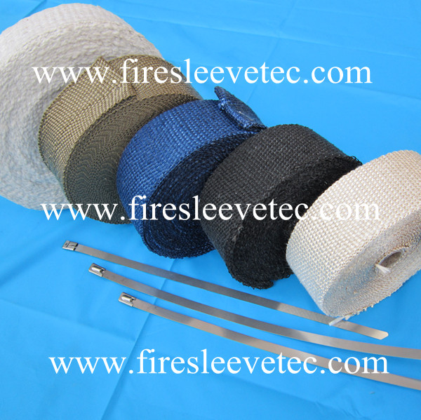 Titanium Exhaust Header Heat Shield Wrap