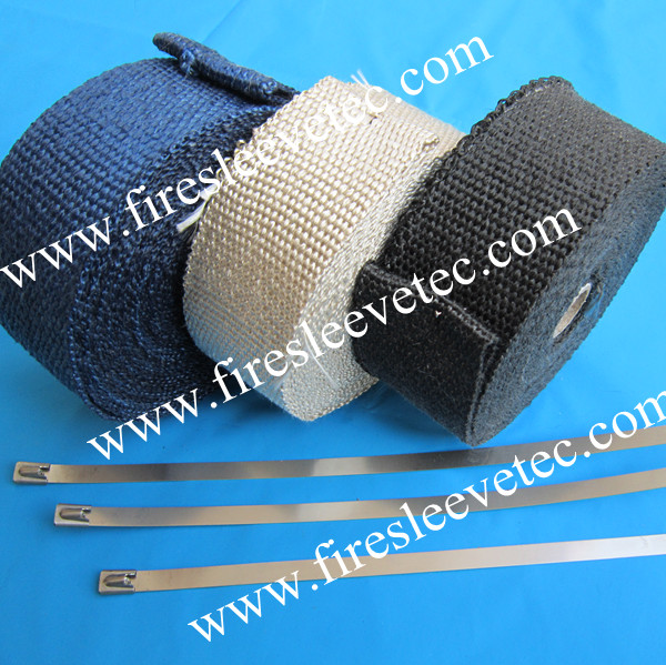 Titanium Exhaust Pipe Wrap Tape