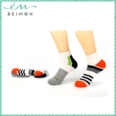 Bamboo deodorant 3d cartoon girl tube sock, bamboo ankle socks wholesale
