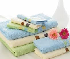 Bamboo Fiber Face Towels