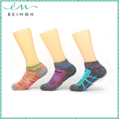2015 soft cotton antibacterial compression socks
