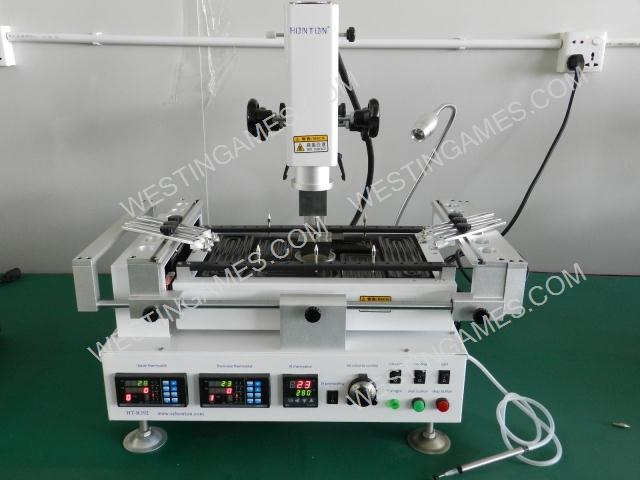 bga rework station price Honton HT-R392 220V BGA Rework Station Hot Air Infrared Preheating 3 Temperature Area