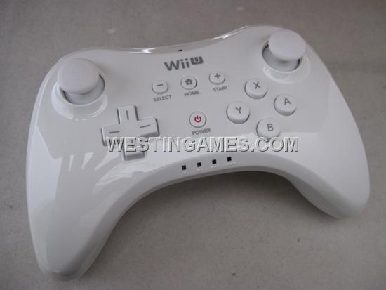wii u controller range WII U Pro Controller W/ USB Charging Cable For Nintendo WII U - White