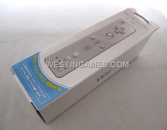 wii remote plus controller 2IN1 Remote Controller With Built-in Motion Plus For Nintendo Wii / WII U - White