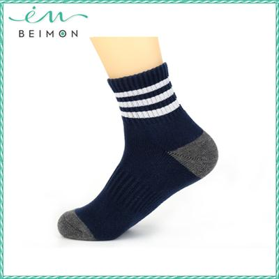 Beimon Anti-Bacterial sublimated socks manufacturer ankle socks