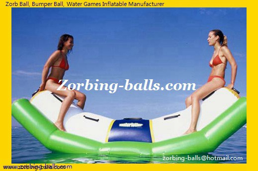 Water Totter, Inflatable Seesaw, Inflatable Rocker, Inflatable Seesaw Rocker