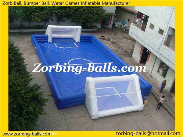 Inflatable Football Pitch, Inflatable Soccer Field, Inflatable Soccer Game, Water Football Game