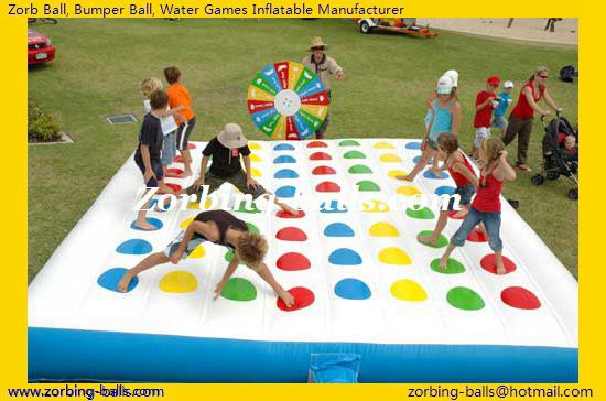 Inflatable Twister Game, Inflatable Twister, Twister Games, Twist Game For Sale