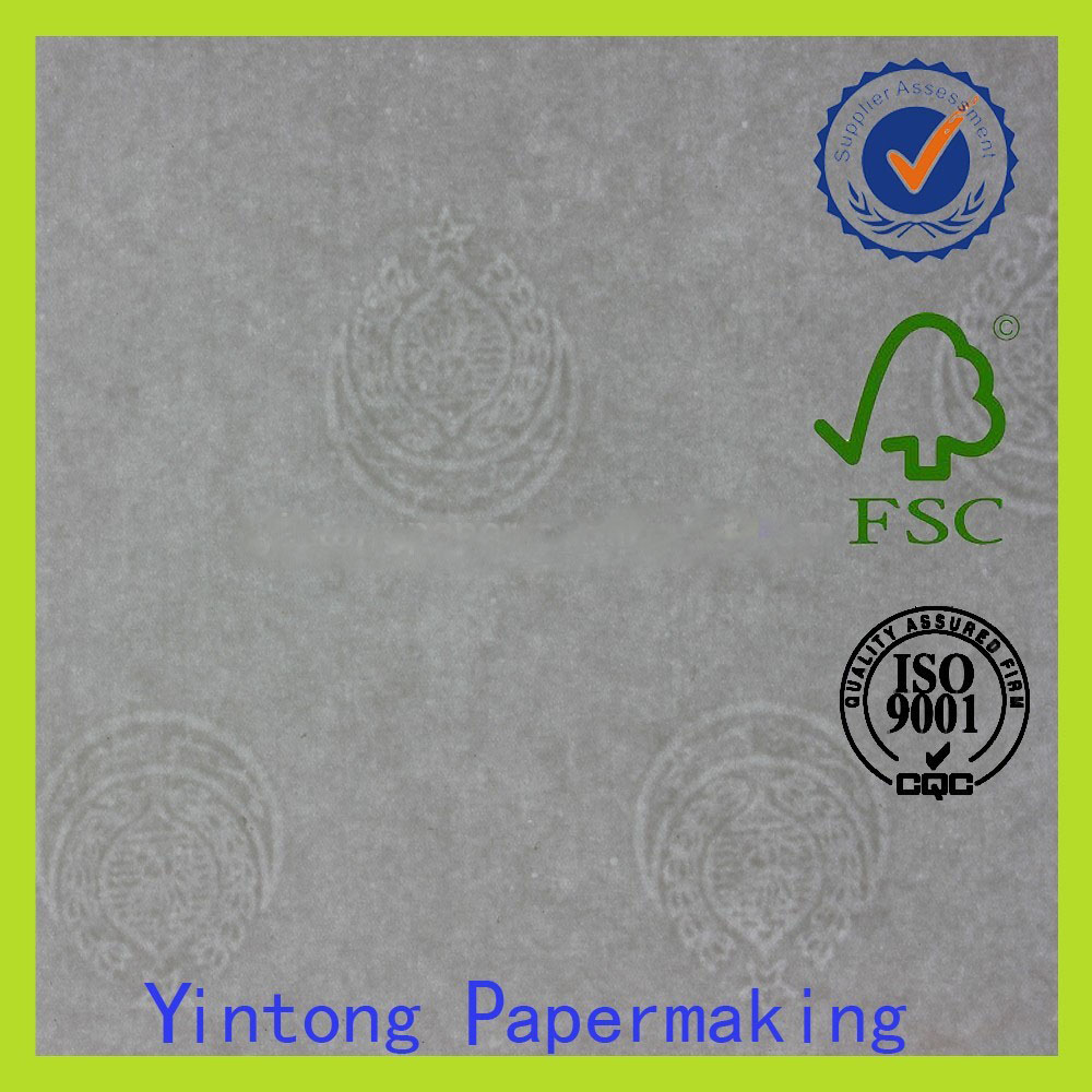 special watermark printing paper for security certificate
