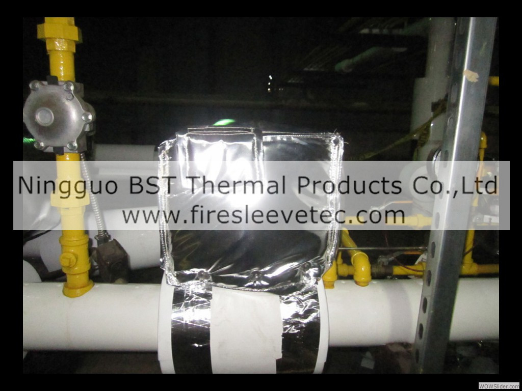 Removable Valve Insulation Blankets Flexible Reusable Insulation Covers