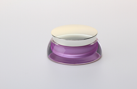 acrylic jar with lid CJ10