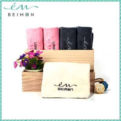 2015 New Customized 100% organic cotton yarn-dyed makeup eraser towel