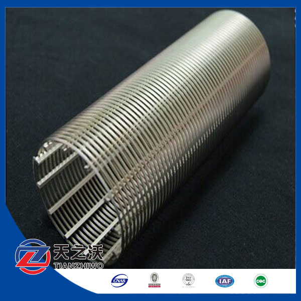 (manufacturer) bridge slotted screen pipe / wedge wire screen