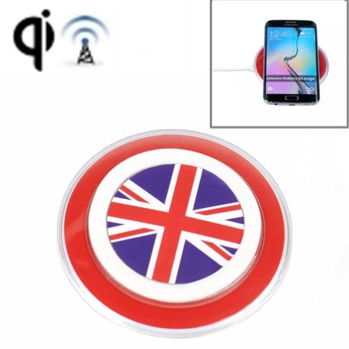 Charging Pad for Samsung Galaxy S6 / S6 edge, LG Nexus 4 / Nexus 5, SONY Z3V, etc (UK Flag Pattern)