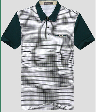 Business casual short sleeve polo shirt