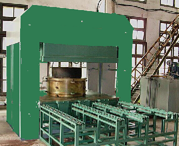 Rubber Bumper Vulcanizing Press