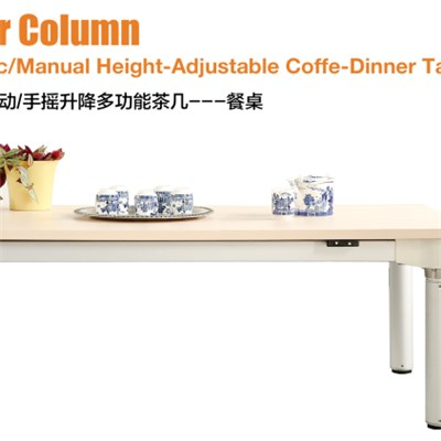 Four column  coffee -dinner table