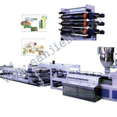 PVC Edge Bands Extrusion Line SJ65