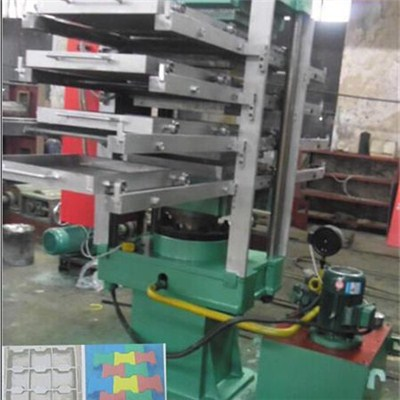 Rubber Floor Curing Press