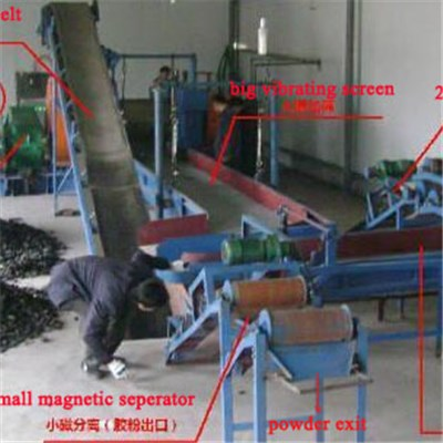 Waste Tyre Recycling Machines