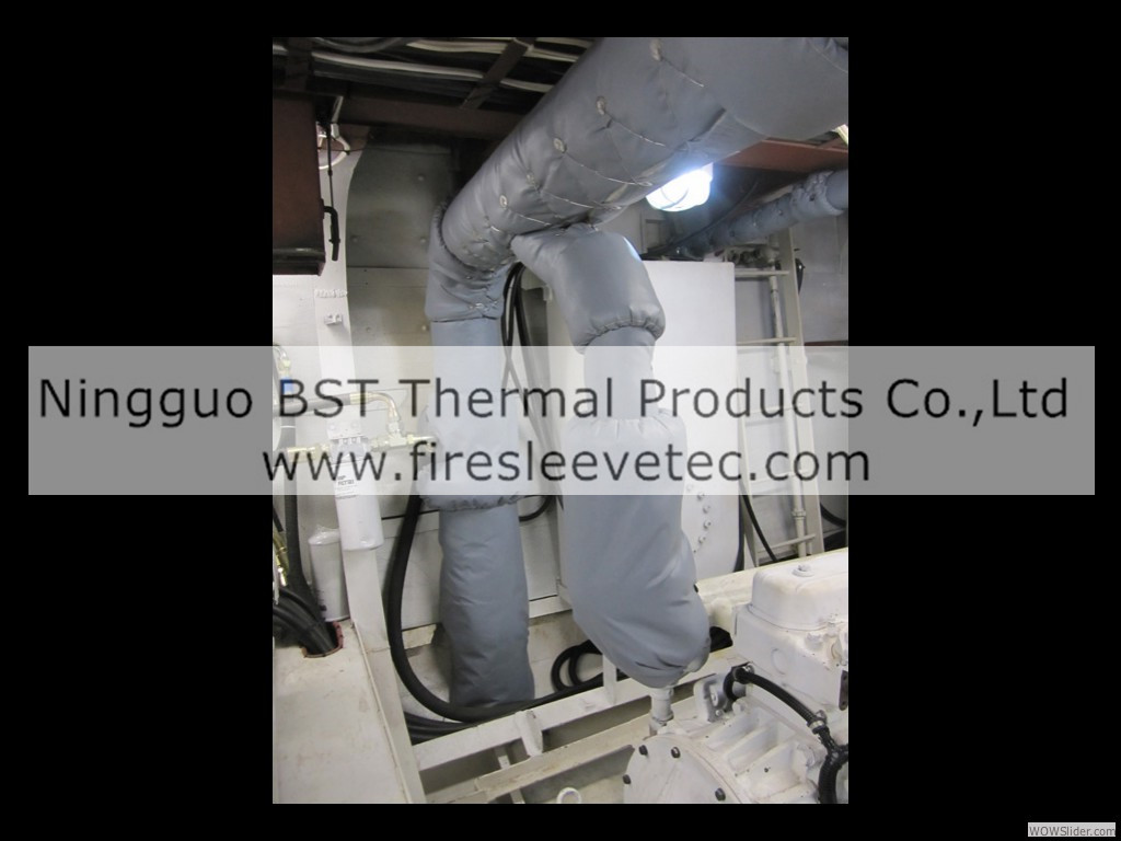 Engine Exhaust Insulation Blankets