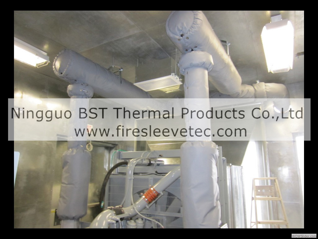 Exhaust Pipe Blanket Insulation