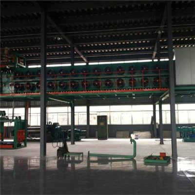 Overhead Rubber Sheet Cooling Machine