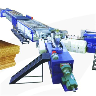 PE Wood Profile Extrusion Line SJ65