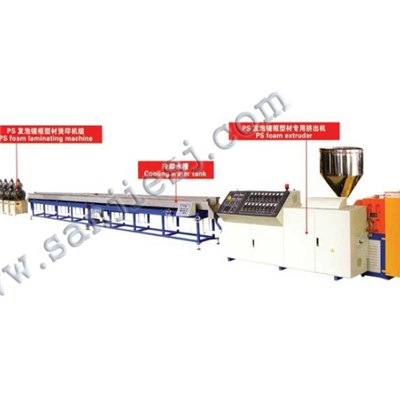PS Foamed Picture Frame Extrusion Line SJ65