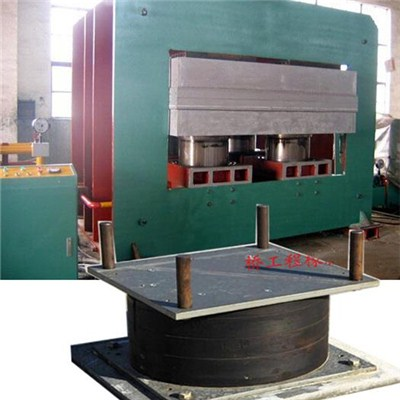 Bridge Bearing Vulcanizing Press