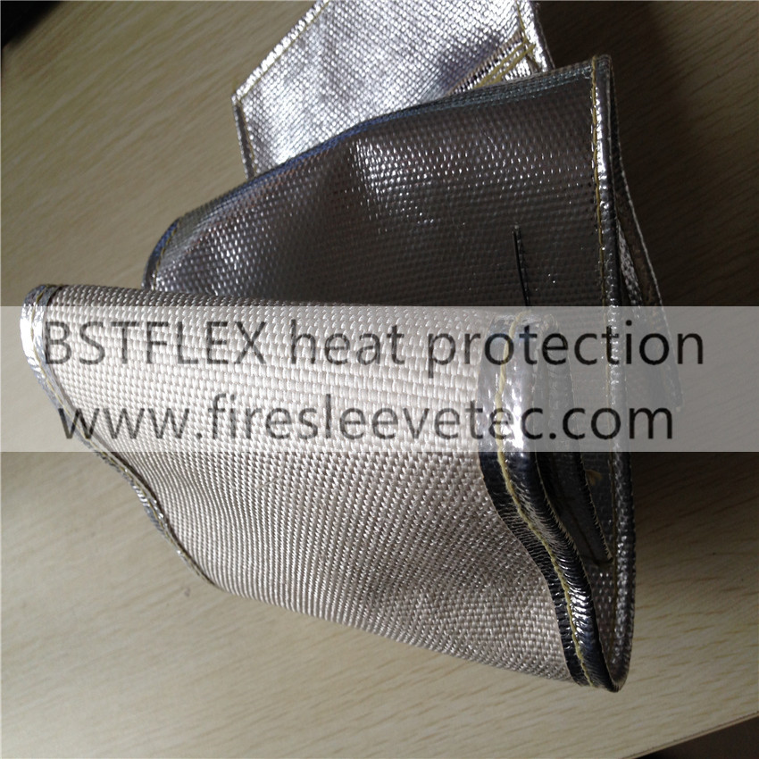Engine Exhaust Pipe Insulation Blanket Jacket Cover