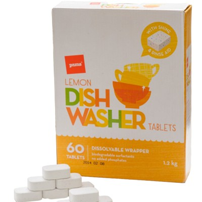 Dishwasher Tablets  with water solubl wrapper