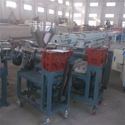 PERT Three Layer Antioxygen Water Supply Pipe Extrusion Line SJ65
