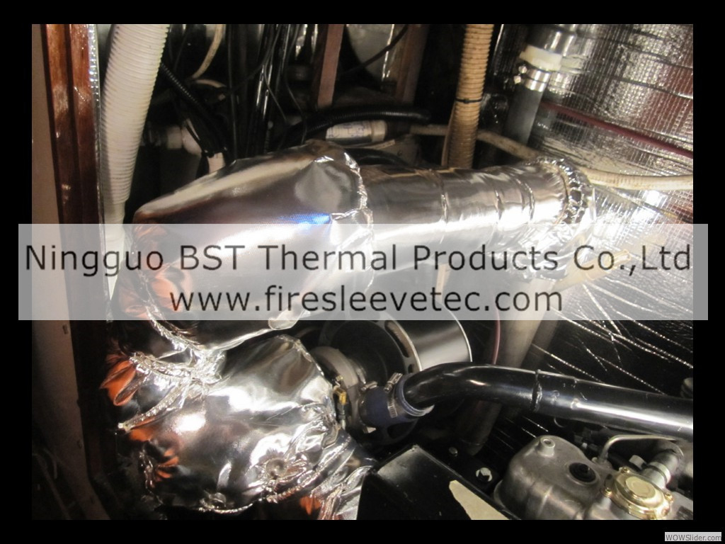 Engine Compartment Heat Insulation