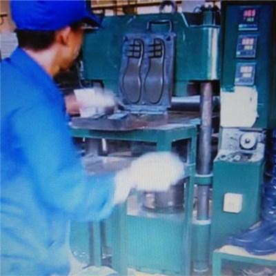 Rubber Shoe Sole Vulcanizing Press