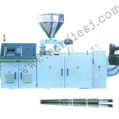PVC Conical Twin Screw Extruder SJ65-80-90