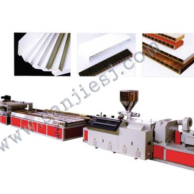 PVC Wood Crust Foam Board Extrusion Line SJ80