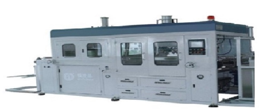LX2417H-S rule-steel-knife thermoforming machine